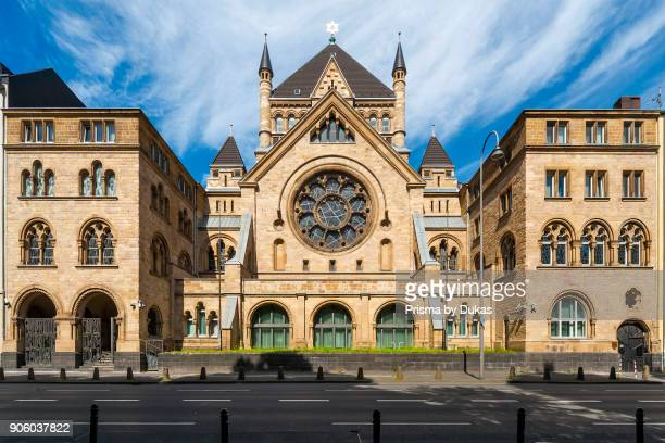 Cologne, North Rhine-Westphalia, Synagogue Roonstrasse.