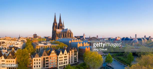 cologne panorama - cologne stock pictures, royalty-free photos & images