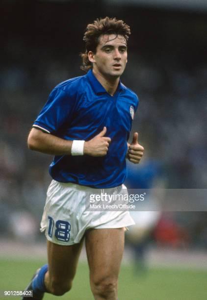 UEFA European Championships Italy v Denmark Roberto Mancini of Italy