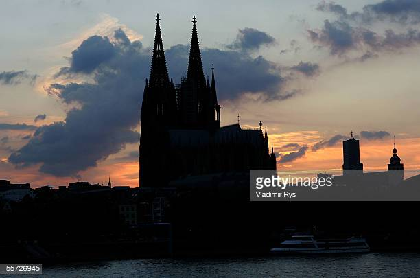 Colognes cathedral Dom is seen on a general view on September 07 2005 in Cologne Germany Cologne is one of the host cities that will be used to stage...
