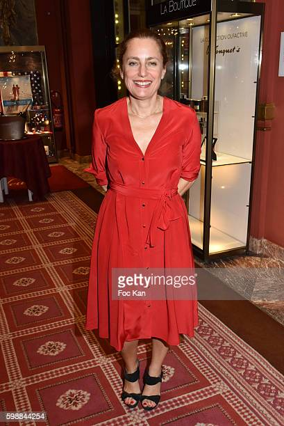 Colombe Schneck attends the Dinner Party 42nd Deauville American Film Festival Opening Ceremony at the CID on September 2 2016 in Deauville France