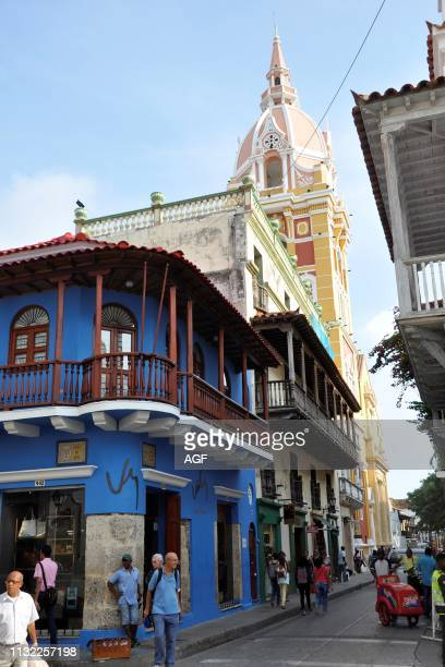 Colombia, Cartagena, old town.