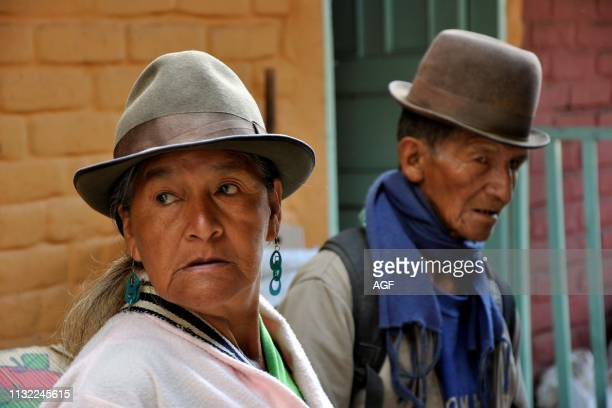 Colombia. Cauca district. Silvia. Daily life.