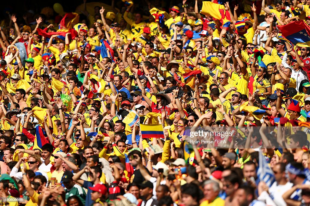 Colombia v Greece: Group C - 2014 FIFA World Cup Brazil : News Photo