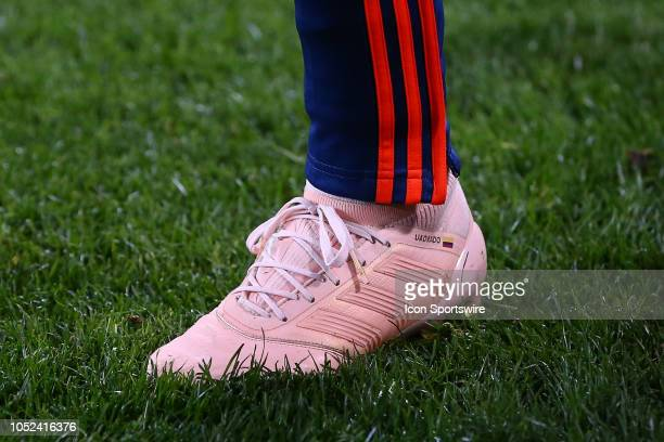 Colombia forward Juan Cuadrado Adidas Claets during the International Friendly Soccer Game between Colombia and Costa Rica on October 16 2018 at Red...