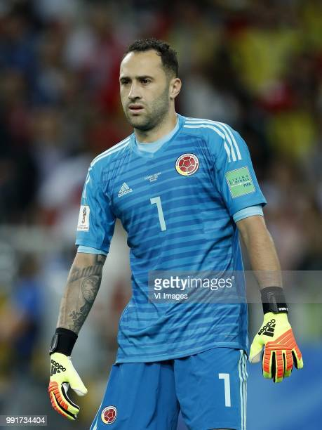 Colombia goalkeeper David Ospina during the 2018 FIFA World Cup Russia round of 16 match between Columbia and England at the Spartak stadium on July...