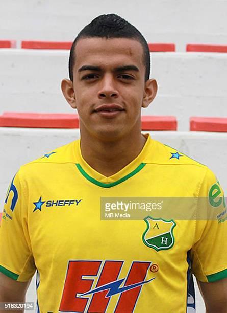 Colombia League Liga Aguila 20152016 Club Deportivo Atletico Huila Colombia / William Omar Duarte Figueroa