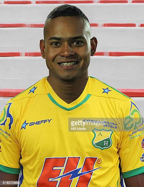 Colombia League Liga Aguila 20152016 Club Deportivo Atletico Huila Colombia / Armando Junior Vargas Morales