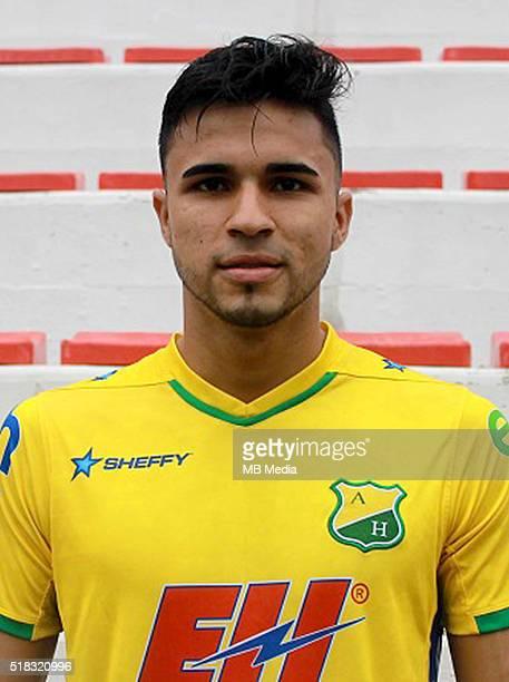 Colombia League Liga Aguila 20152016 Club Deportivo Atletico Huila Colombia / Eduard Andres Gutierrez Castillo