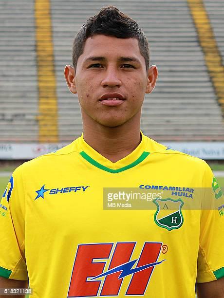 Colombia League Liga Aguila 20152016 Club Deportivo Atletico Huila Colombia / Jean Carlos Becerra Cuello