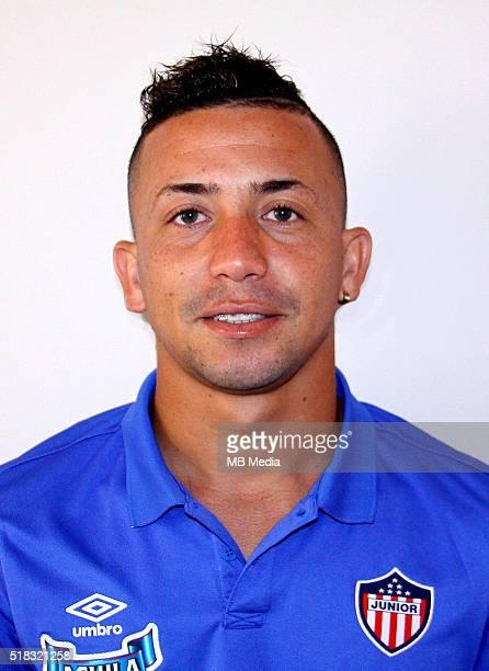 Colombia League Liga Aguila 20152016 Club Deportivo Junior de Barranquilla Colombia / Leiner de Jesus Escalante Escorcia