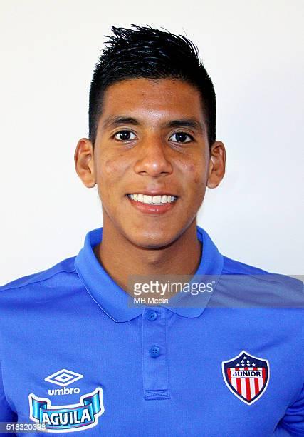 Colombia League Liga Aguila 20152016 Club Deportivo Junior de Barranquilla Colombia / Jesus David Murillo Leon