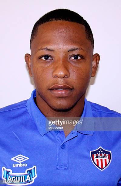 Colombia League Liga Aguila 20152016 Club Deportivo Junior de Barranquilla Colombia / Jhon Freduar Vasquez Anaya
