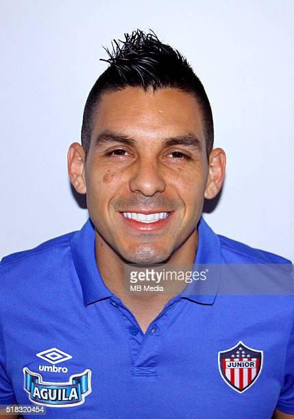 Colombia League Liga Aguila 20152016 Club Deportivo Junior de Barranquilla Colombia / Jorge Andres Aguirre Restrepo