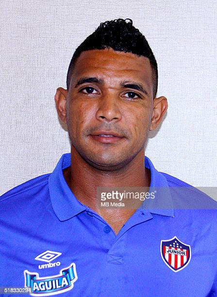 Colombia League Liga Aguila 20152016 Club Deportivo Junior de Barranquilla Colombia / Luis Manuel Narvaez Pitalua