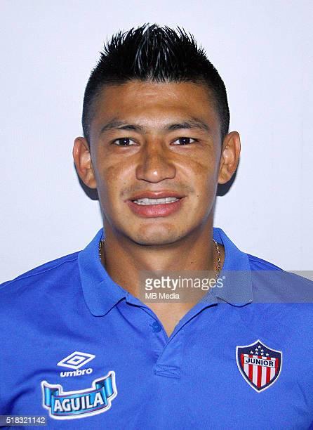 Colombia League Liga Aguila 20152016 Club Deportivo Junior de Barranquilla Colombia / Jhonny Alexander Vasquez Salazar