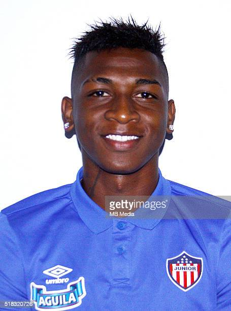 Colombia League Liga Aguila 20152016 Club Deportivo Junior de Barranquilla Colombia / Yony Alexander Gonzalez Copete