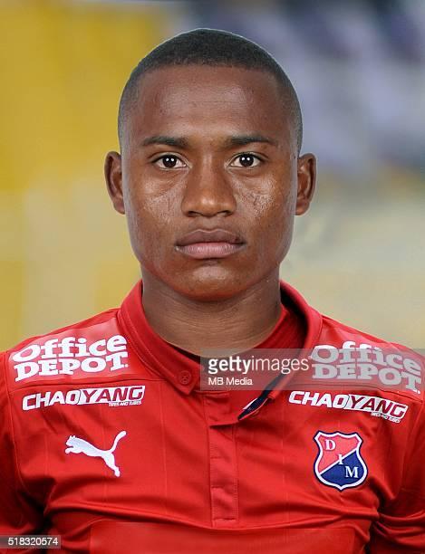 Colombia League Liga Aguila 20152016 Deportivo Independiente Medellin Colombia / Faider Fabio Burbano Castillo