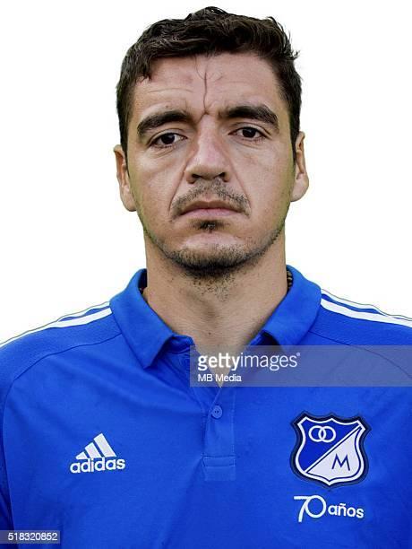 Colombia League Liga Aguila 20152016 Millonarios Futbol Club Colombia / Christian Gilberto Ovelar