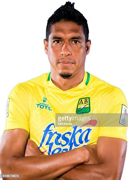 Colombia League Liga Aguila 20162017 / 'nClub Atletico Bucaramanga Colombia 'nAlejandro Otero