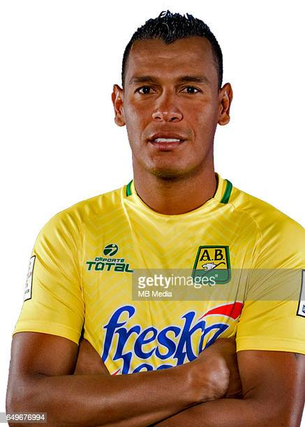 Colombia League Liga Aguila 20162017 / 'nClub Atletico Bucaramanga Colombia 'nDiego Peralta