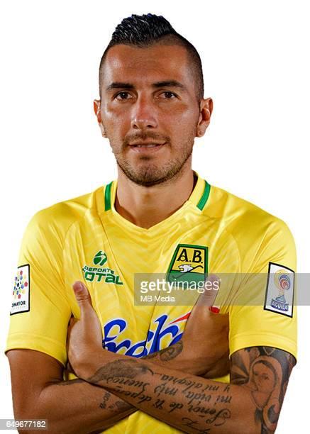 Colombia League Liga Aguila 20162017 / 'nClub Atletico Bucaramanga Colombia 'nJohn Freddy Perez
