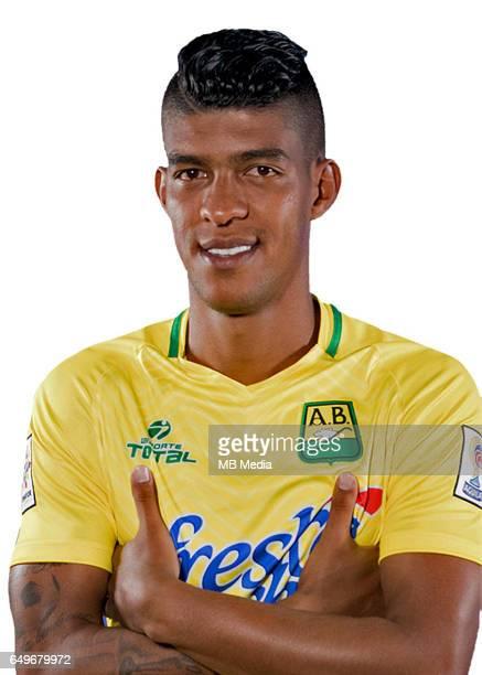 Colombia League Liga Aguila 20162017 / 'nClub Atletico Bucaramanga Colombia 'nYulian Mejía