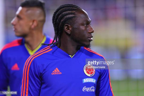 Colombia midfielder Yimmi Chara during the International Friendly Soccer Game between Colombia and Costa Rica on October 16 2018 at Red Bull Arena in...