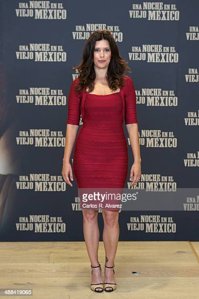 Colombian actress Angie Cepeda attends the A Night in Old Mexico photocall at the Telefonica Foundation on May 6 2014 in Madrid Spain