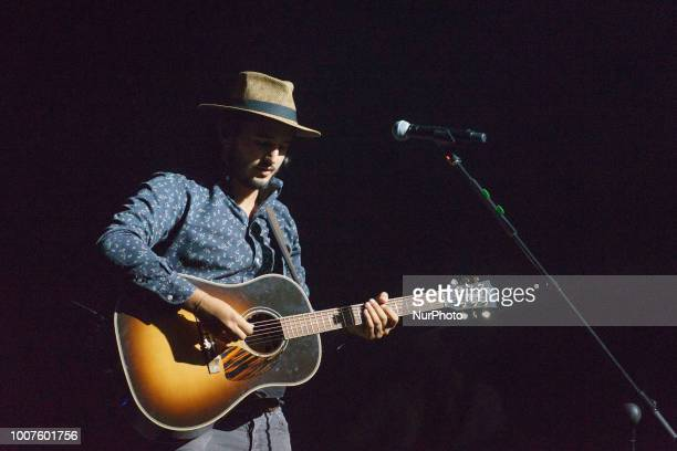 Colombian band MORAT performs live at Universal Music Festival at Royal Theater on July 29 2018 in Madrid Spain