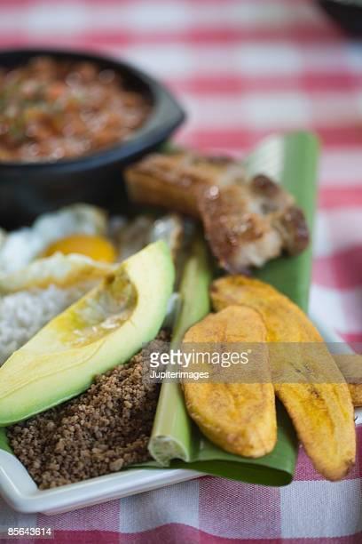Colombian bandeja paisa