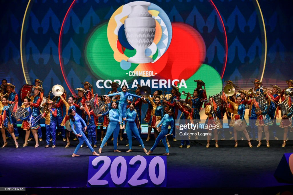 Copa America Argentina and Colombia 2020 Draw : ニュース写真