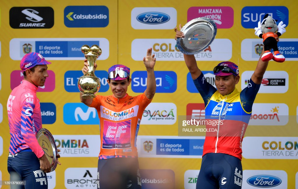 CYCLING-COLOMBIA-TOUR : News Photo