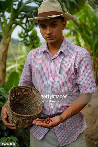 Colombian farmer