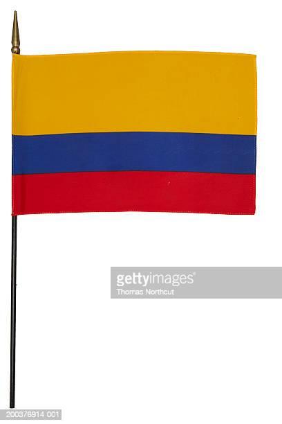 colombian flag - bandera colombiana fotografías e imágenes de stock