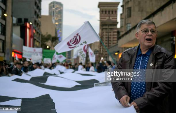 Colombian former member of the Revolutionary Armed Forces of Colombia and member of the Common Alternative Revolutionary Force party Rodrigo Granda...