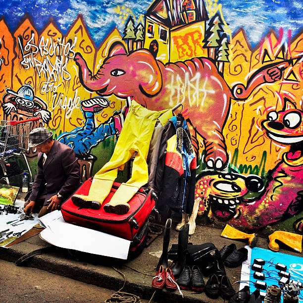 Street Art & Graffiti in Bogota Photos and Images | Getty Images