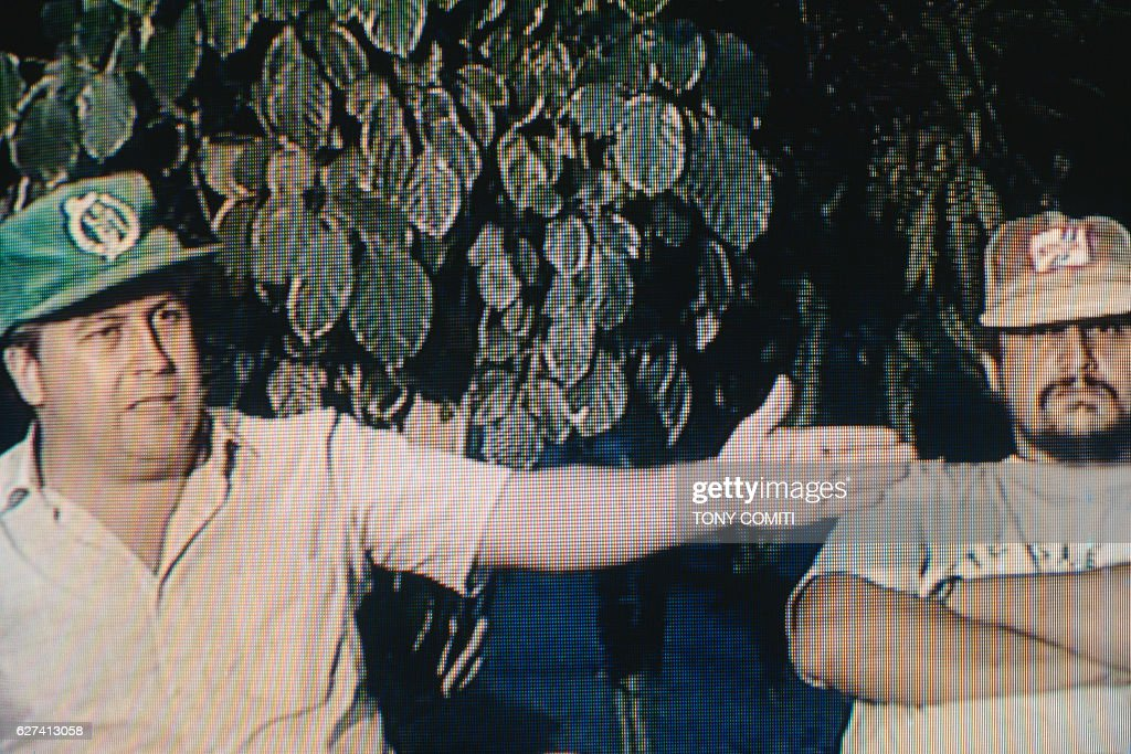 Pablo Escobar and Jorge Luis Ochoa : News Photo