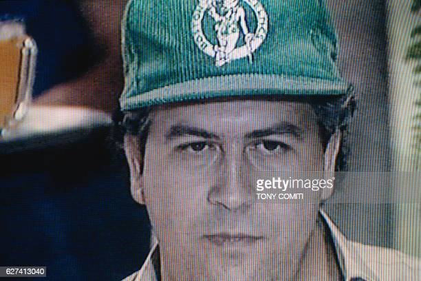 Colombian Parliament member Pablo Escobar Gaviria is also the mythic leader of the Medellin Cartel a criminal organization dedicated to the smuggling...