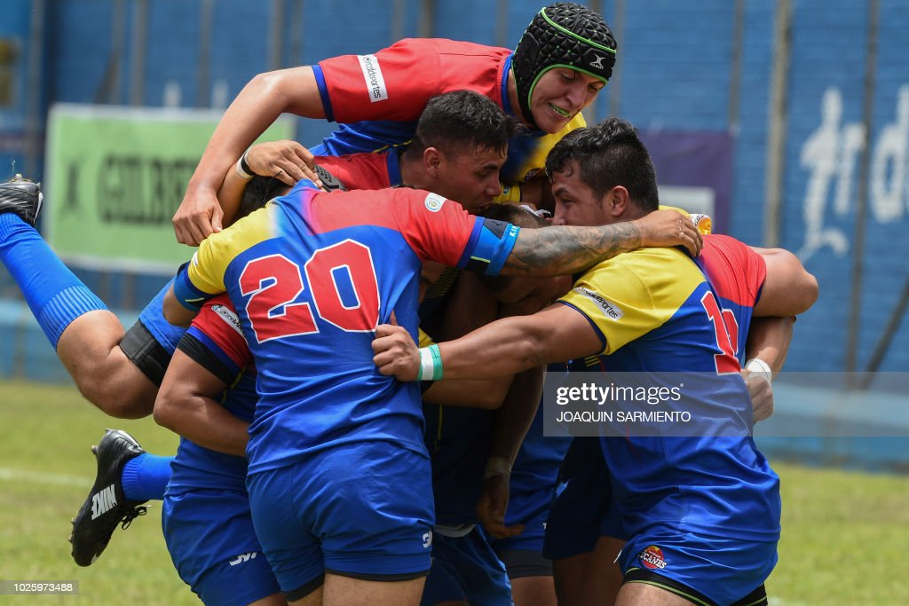 RUGBY-AMERICAS CHALLENGE-COLOMBIA-PARAGUAY : News Photo