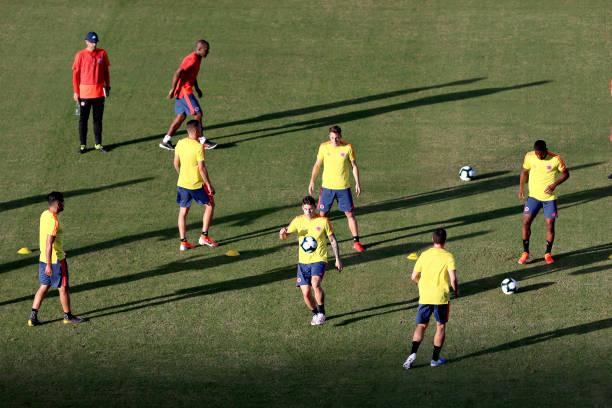 BRA: Colombia Press Conference & Training Session - Copa America Brazil 2019