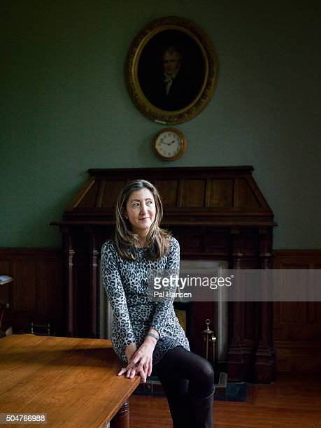 Colombian politician former senator and anticorruption activist Ingrid Betancourt is photographed for Stern magazine on February 13 2015 in Oxford...