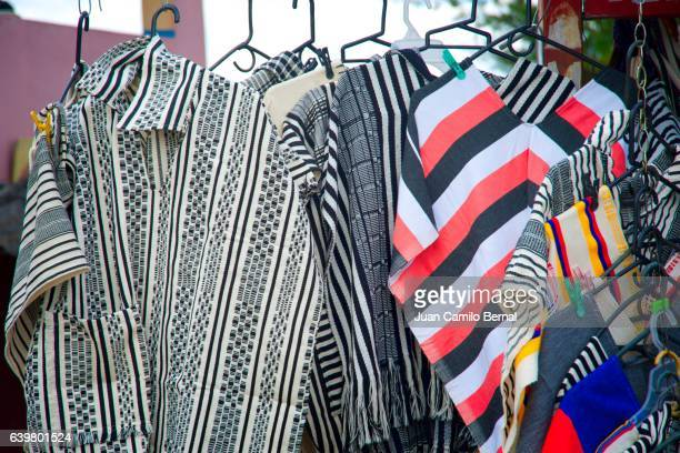 Colombian ponchos for sale in Guarne