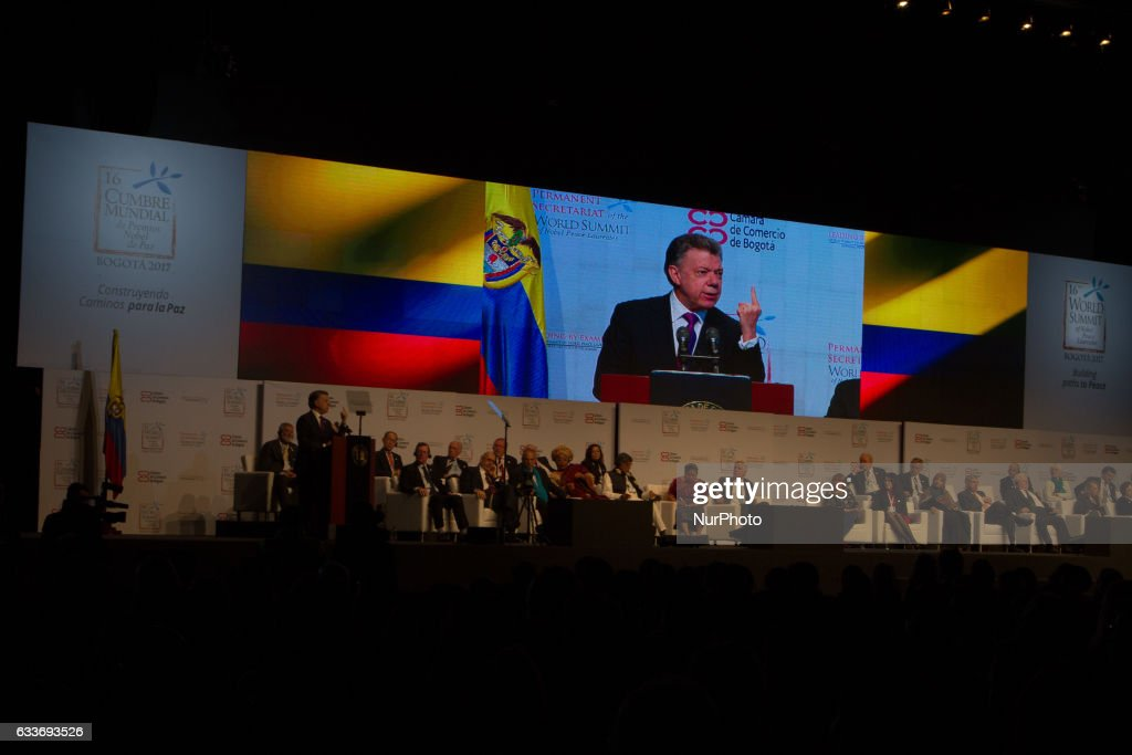 16th World Summit of Nobel Peace Laureates : News Photo