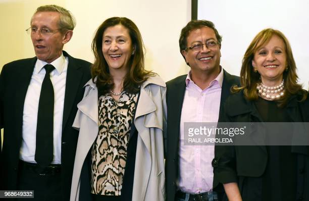 Colombian senator and former M-19 guerrilla member Antonio Navarro Wolf, Colombian-French former politician Ingrid Betancourt, Colombian presidential...
