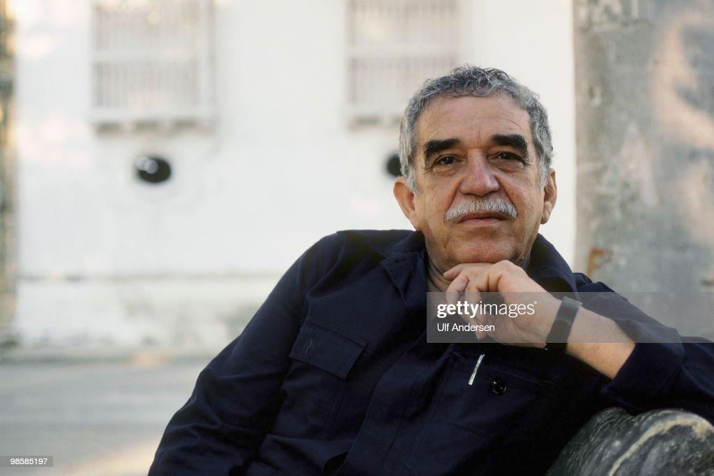 Gabriel Garcia Marquez Portrait Session : News Photo