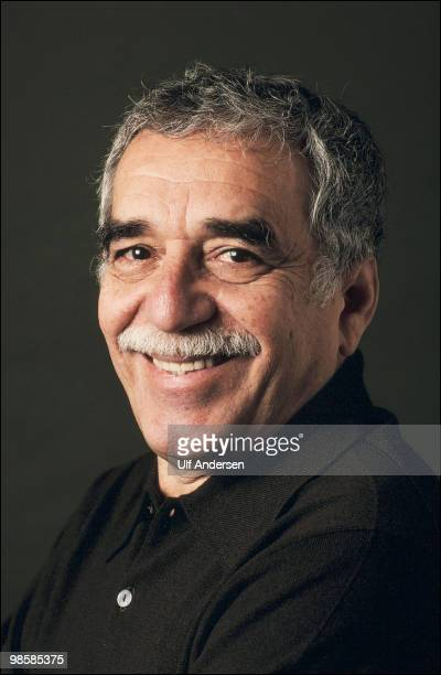 Colombian writer and Nobel prize in literature winner Gabriel Garcia Marquez poses for a portrait session on September 111990 in ParisFrance