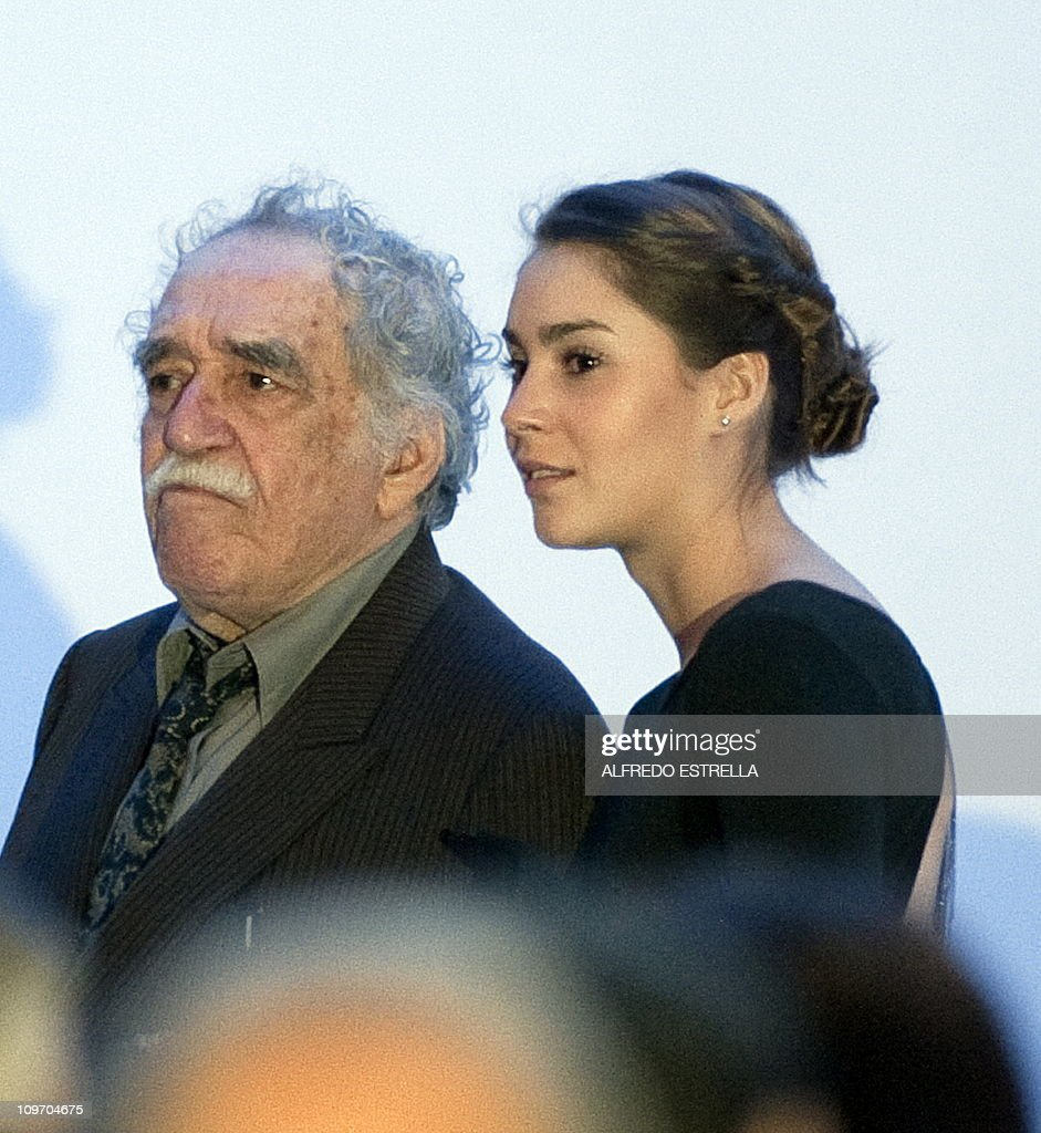 Colombian writer Gabriel Garcia Marquez : Fotografía de noticias