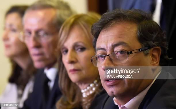 Colombian-French former politician Ingrid Betancourt, Colombian senator and former M-19 guerrilla member Antonio Navarro Wolf, vice-presidential...