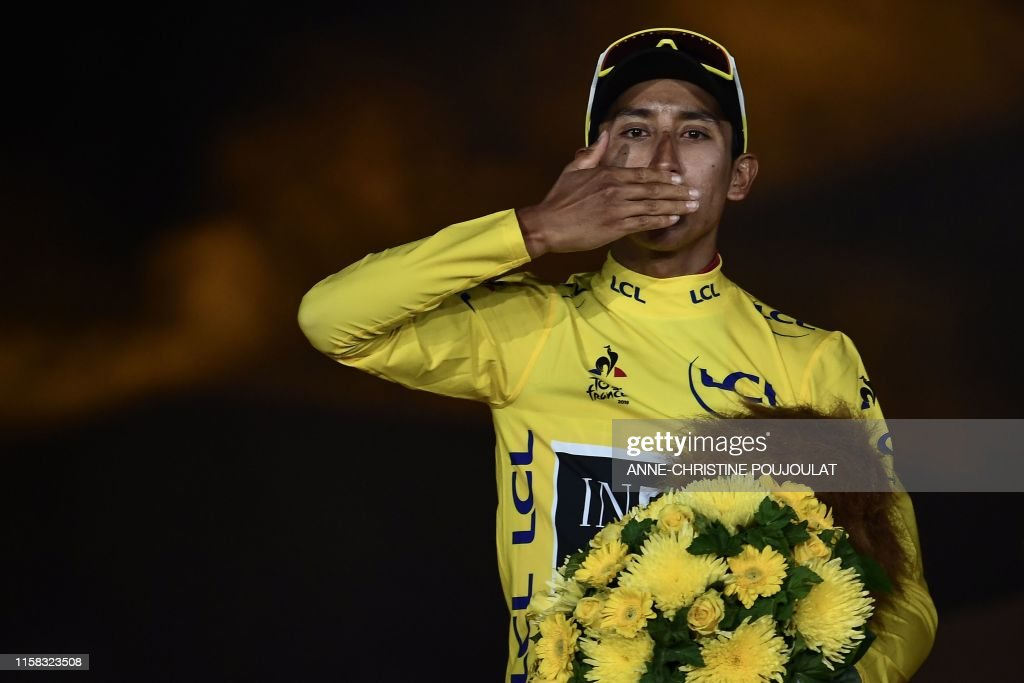 CYCLING-FRA-TDF2019-PODIUM : News Photo